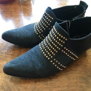 ANINE BING Charlie Studded Boots - Size 36 (6)